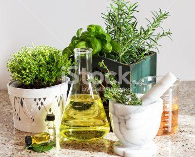 Herbal Medicine Concept Royalty Free Stock Photo