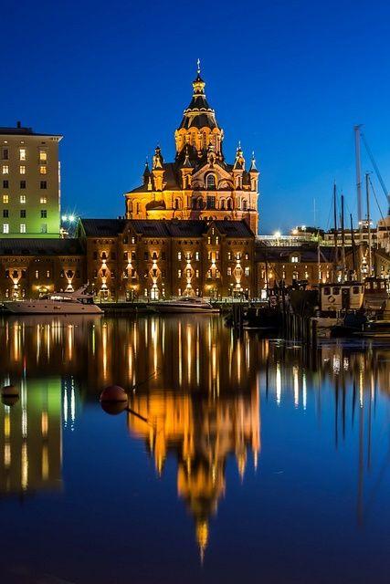 Uspenski Cathedral in Helsinki, Uusimaa | Finland