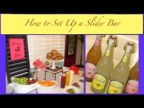 This is the Slider Bar that we set up in our dining room.
