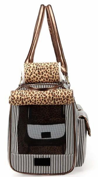 cd3543e443d5ad Fashion Dog Cat Pet Carrier Bags Travel Mesh Tote Handbag ...