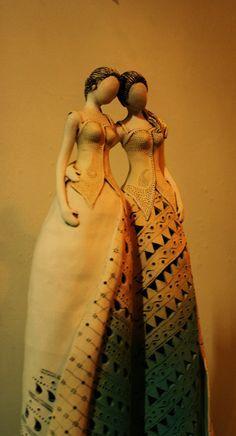 beauty ceramic dresses