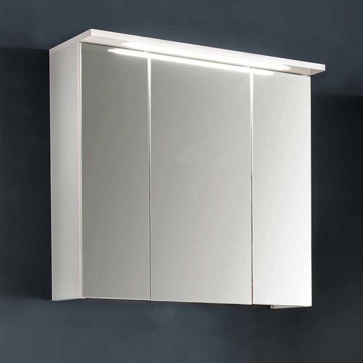 Spiegelschrank Mit 3 Türen Weiß Jetzt Bestellen Unter:  Https://moebel.ladendirekt.de/bad/badmoebel/spiegelschraenke/?uidu003d80465046 3fdd 5434 9b1a   ...