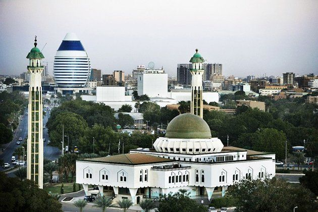 FALLS CHURCH, VIRGINIA, UNITED STATES OF AMERICA:  The Dar Al-Hijrah Islamic Center in Falls Church, Virginia was one of the first mosques to be established in the region.  KHARTOUM, SUDAN: A general view of the city center and the As Sayed Ali Mosque in Khartoum, Sudan. Khartoum, the capital of Sudan, lies at the point where both the Blue and the White Nile converge.