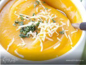 Суп-пюре из тыквы.