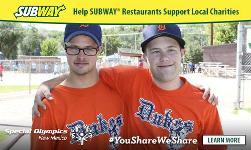 Stop by SUBWAY® for lunch today! From now through August 31st, SUBWAY® Restaurants, located in USA & Canada are partnering with local charities to give back to the local community. #ad #YouShareWeShare