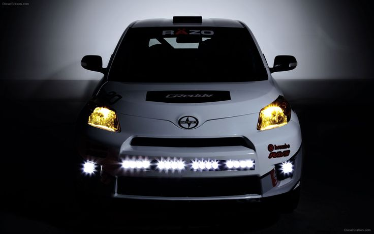 Scion-xD rally car