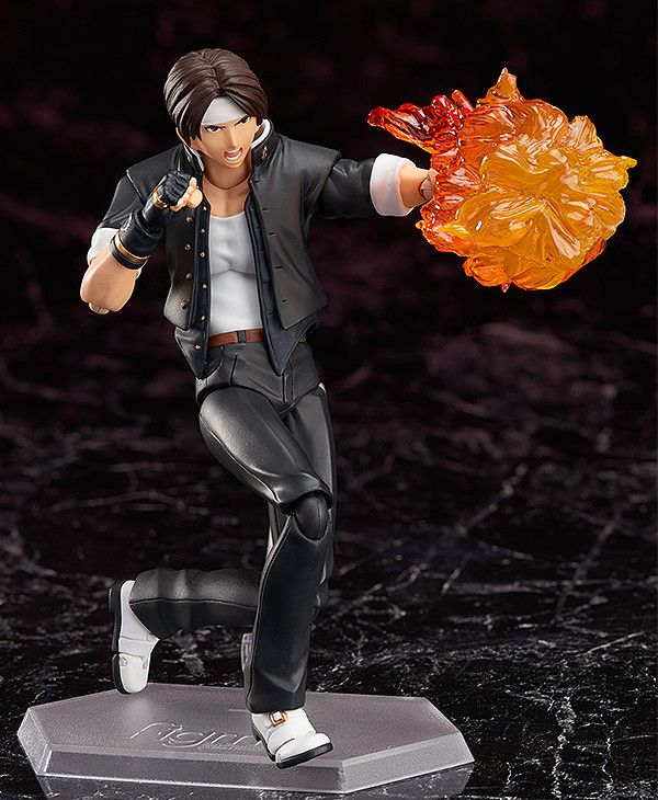 figma: Kyo Kusanagi (KOF 98) Now Official! [Nov 17] Uh.... I'm happy to see KOF, but this one looks a bit off.... Nonetheless ok I guess.