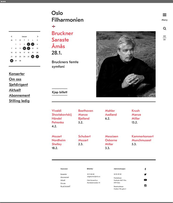 The Oslo Philharmonic — Neue — New, relevant & remarkable
