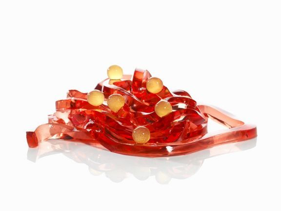 Molekularküche: Campari-Tagliatelle mit Orangensaftsphären ist ein Rezept mit frischen Zutaten aus der Kategorie Südfrucht. Probieren Sie dieses und weitere Rezepte von EAT SMARTER!
