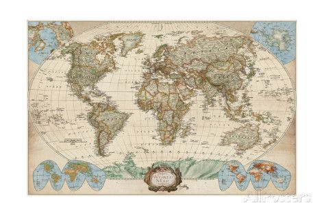 232 best carte du monde images on pinterest cards worldmap and educational world map posters by elizabeth medley allposters gumiabroncs Images