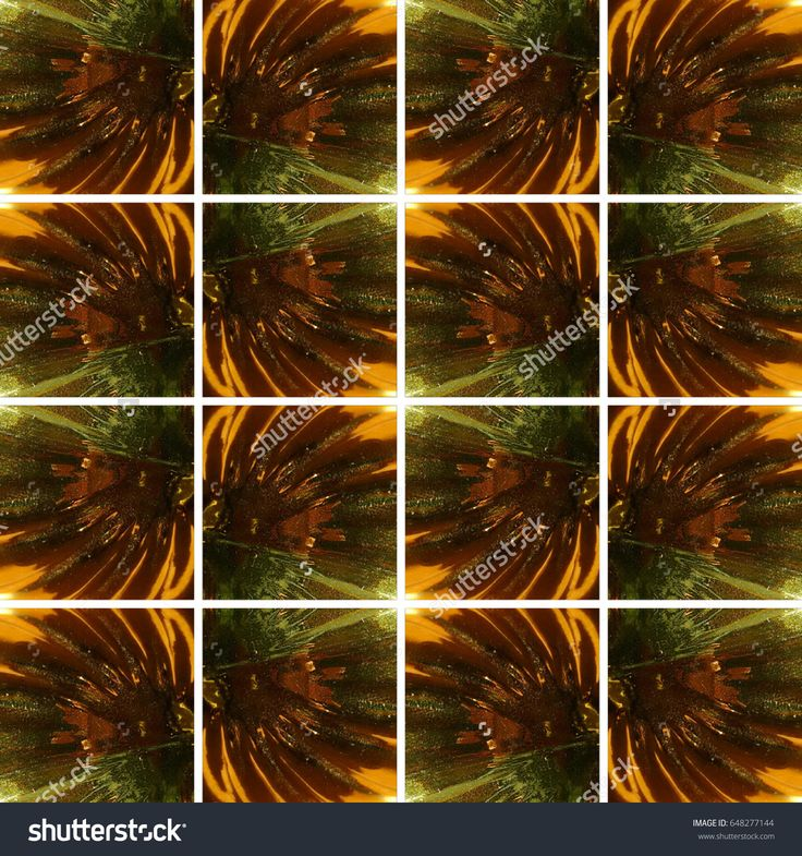 #Dark #golden and #green wavy #glass #texture inside #square shapes arranged as #background