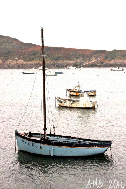 L'hiver est rude  et laisse des marques d'usure...  Dans mon triste Finistère,   La rouille vient de la mer.