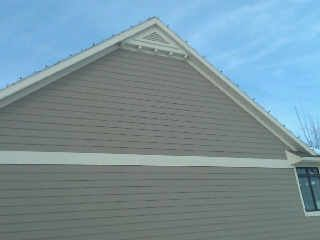 17 best images about remodel siding and gable ideas on pinterest siding options shaker - Options for roof remodeling ...