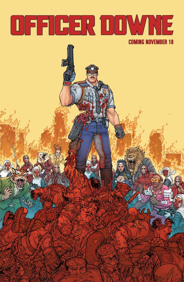 Officer Downe gets a new poster. Details & trailer here