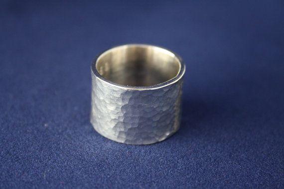 Ring Silber breit von ZoesEleuthera auf Etsy