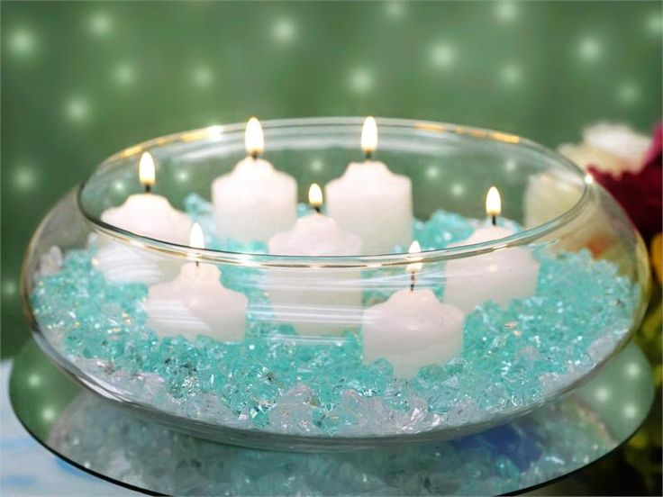 Floating Candle Bowl - 10"