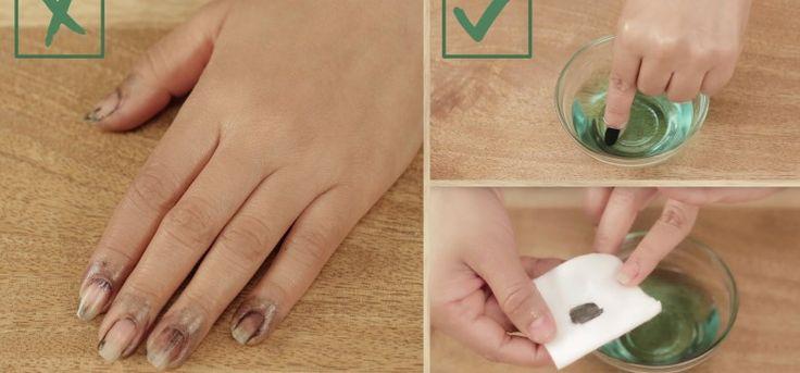 Dark Nail Polish | Don't Put Fingernail Polish Remover on a Cotton Ball. Do THIS Instead!