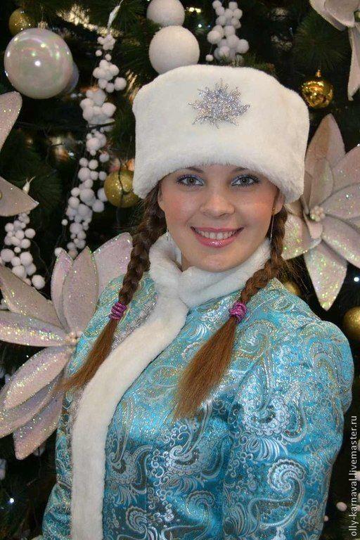 Купить Костюм Снегурочки - голубой, парча, костюм снегурочки, Новый Год, снегурочка, костюм для аниматора #new #years #ДедМороз #Снегурочка #costume #cosplay