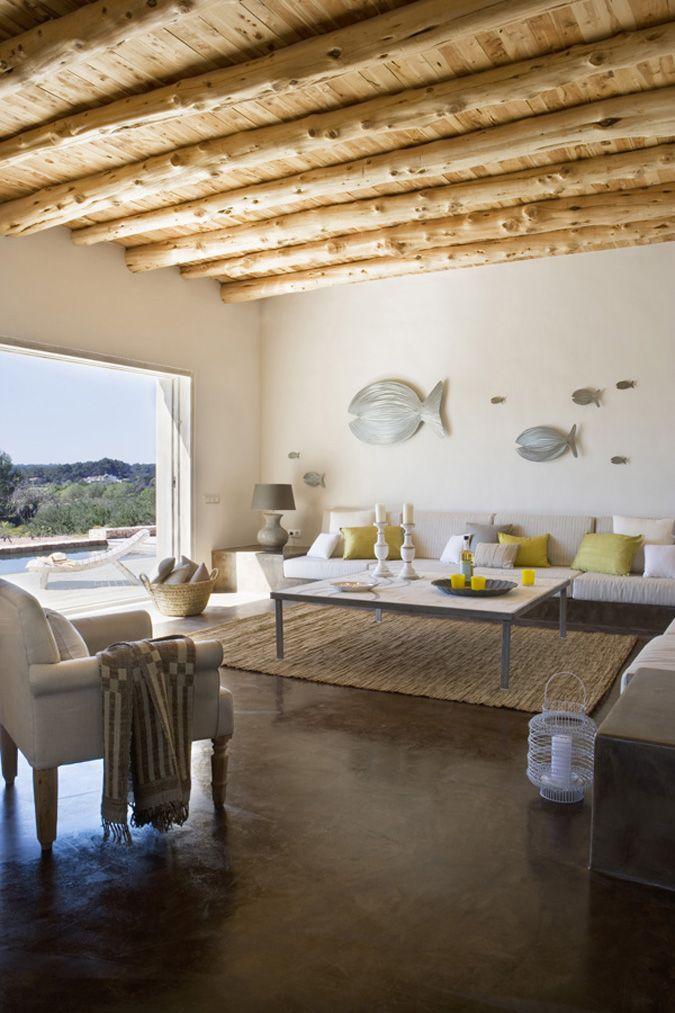 Formentera summer house Fish wall