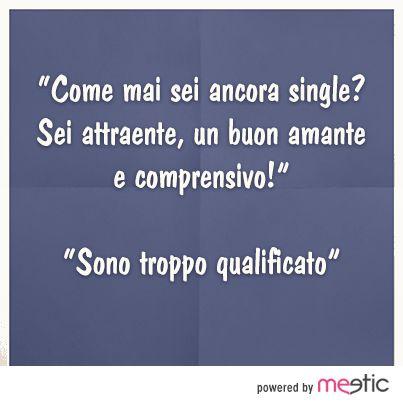 la verità dei #single #sanfaustino