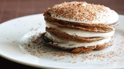 Tiramisu Pancakes: Desserts, Fun Recipes, Tiramisu Pancakes, Tiramisupancakes, Eating, Pancakes Recipes, Yum, Brunch, Lemon Cupcakes