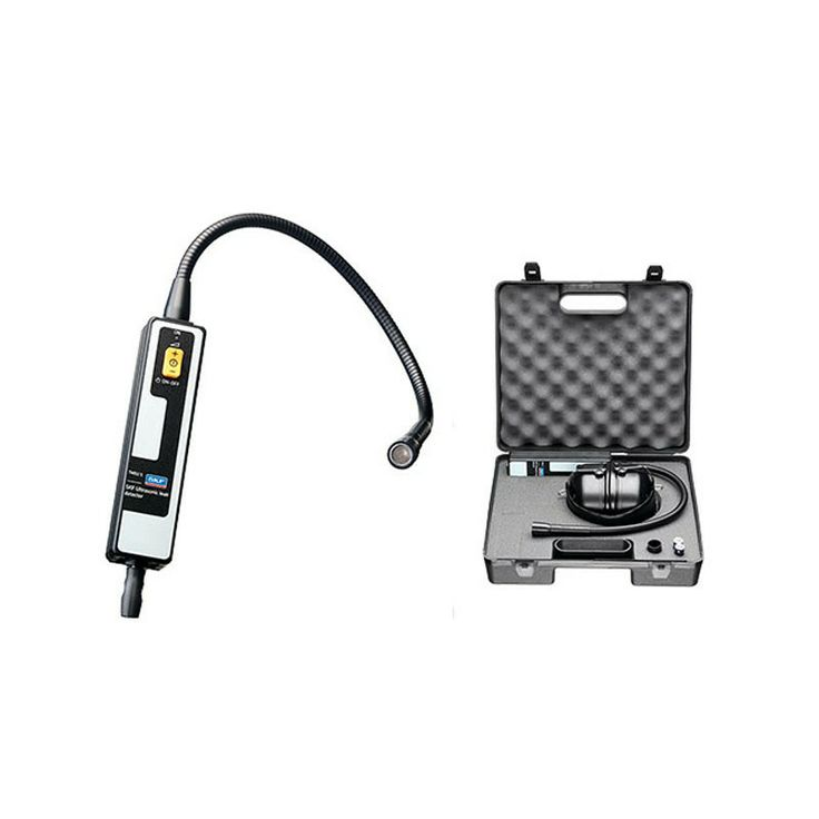 The SKF TMSU 1 is a high quality, user-friendly instrument enabling the detection of air leaks by means of ultrasound. Leaks are caused by fluid flowing from a high pressure environment to a low pressure environment, creating turbulence.