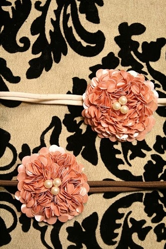 sequin flowers, try