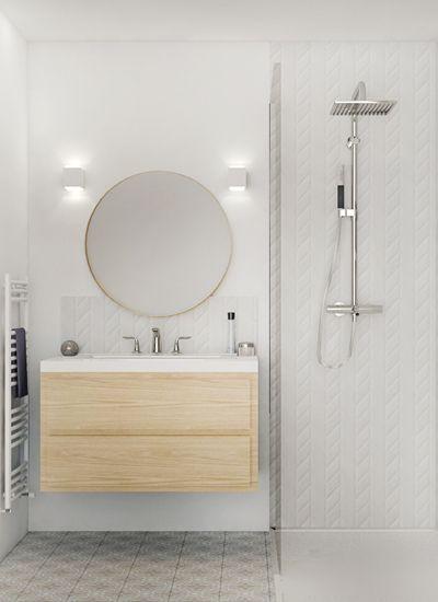 Un bain de lumière, aménagement appartement villeubanne