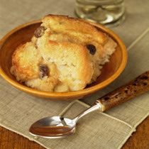 Old-Fashioned Bread Pudding with Cinnamon and Nutmeg