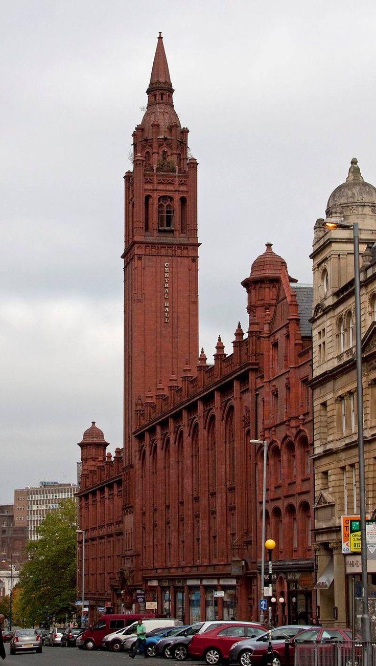 Central Hall Corporation Street Birmingham England Around Birmingham Pinterest England