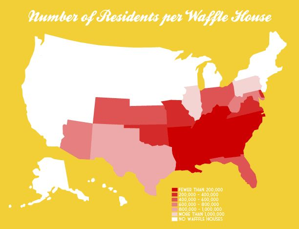 Number Of Residents Per Waffle House Very Small Array Waffle House Resident House