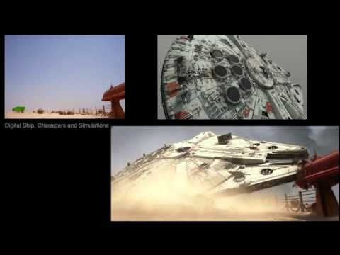 VFX Before and After Star Wars The Force Awakens PART 2 - YouTube