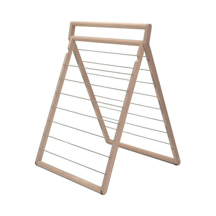 Enhance your interior with an injection of Scandinavian chic with the Dryp Clothes Drying Rack from Skagerak. A wonderfully contemporary clothesline, it has a join in the middle meaning it can be lean