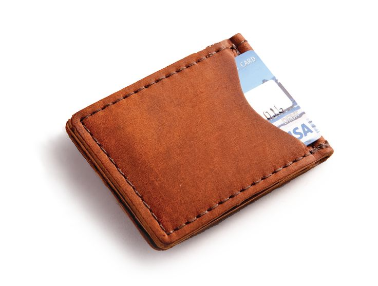 New to Rustico!  The Money Clip and Credit Card Sleeve $25