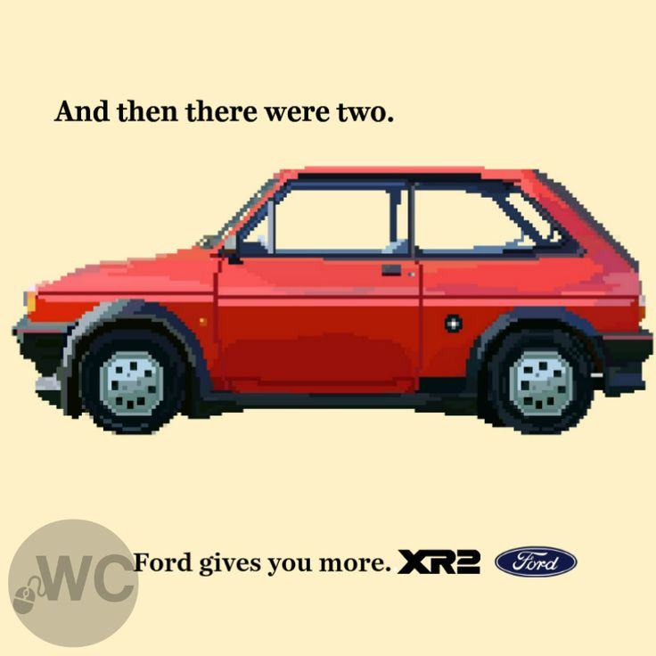 For this Ford Friday we have the Ford Fiesta XR2 poster design I created inspired by my Dad's love for this car.