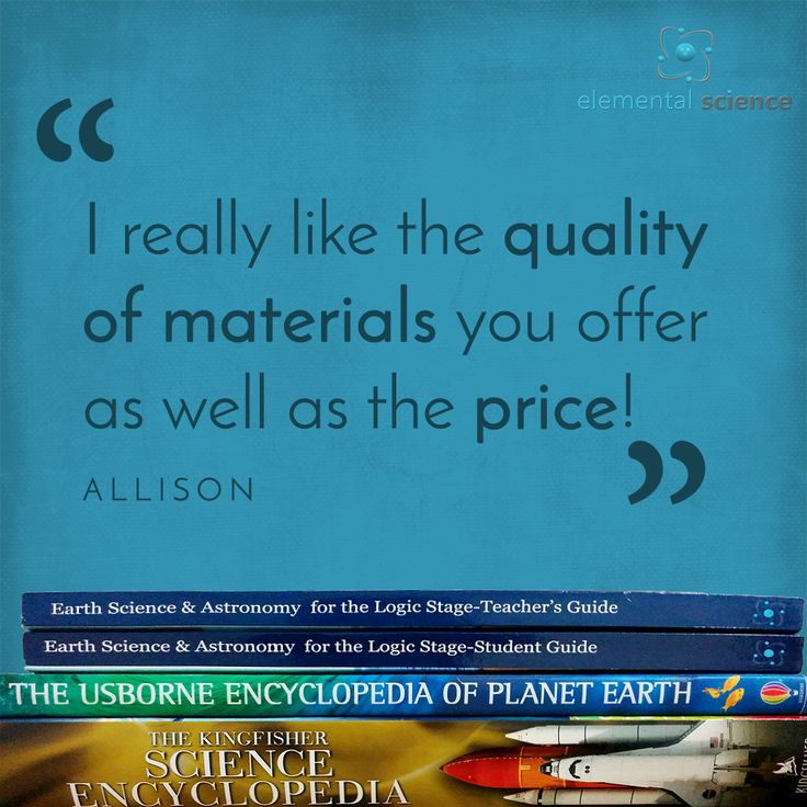Elemental Science Review by Allison See more of the Elemental Science reviews here: