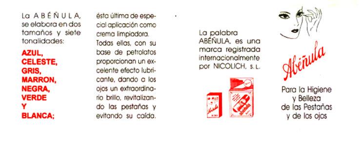 Prospecto Abéñula Nicolich (vigente en la actualidad).