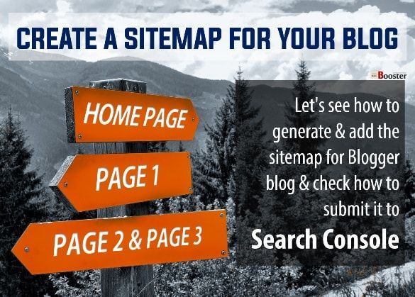 Add a Google Sitemap to your Blogger Blog 2016 — Let's see how to create & submit the sitemap for Blogger blog & check how to add it to Search Console and in robots.txt. Use blogger sitemap URL works for a custom domain for the Search Console which improves the crawling rate of your website.