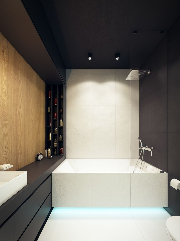 Home Designing — (via This Contemporary Apartment Pops With...