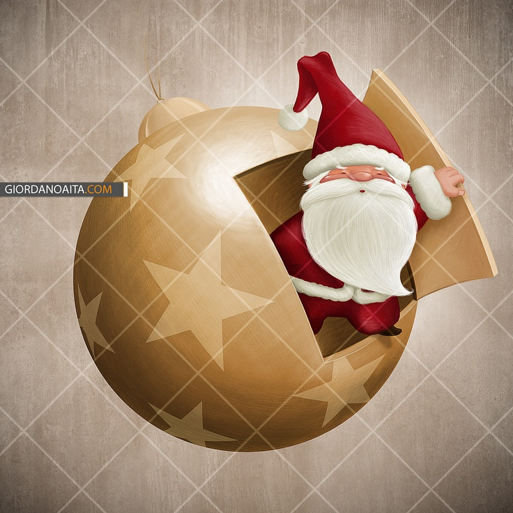 Decorative Christmas ball with surprise - © Giordano Aita - All right reserved -   http://it.fotolia.com/id/27944641