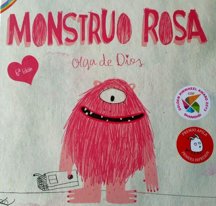 Un libro infantil imprescindible: Monstruo Rosa de Olga de Dios.