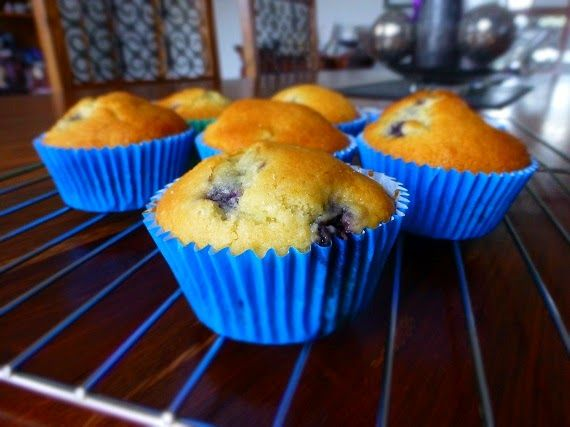Love, Shoes and Cupcakes: Blueberry and Coconut Muffins