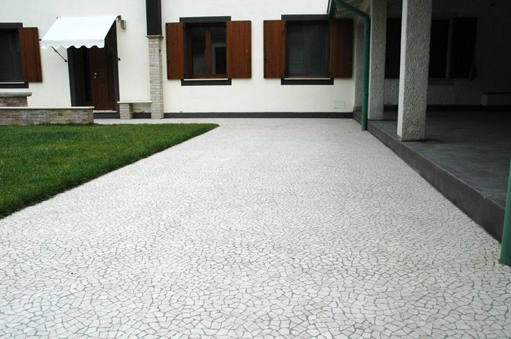 Palladiana su rete in marmo | Venetian Floors - Venetian White