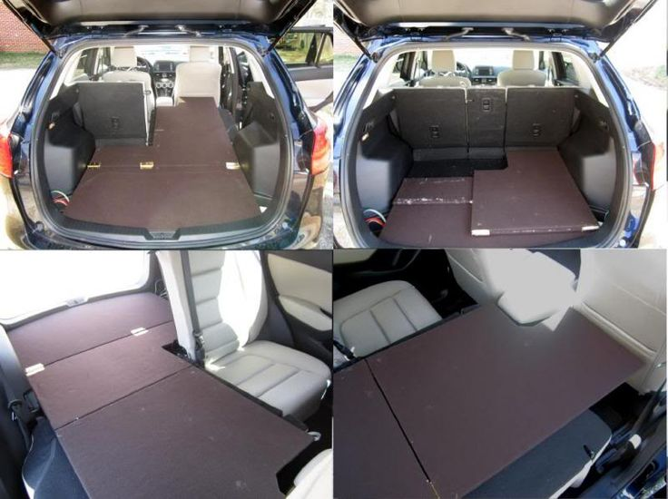 Suv Bed Platform Part - 34: How To Build A Sleeping Platform For A Mazda CX-7