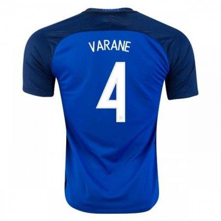 Frankrike 2016 Raphael Varane 4 Hjemmedrakt Kortermet.  http://www.fotballteam.com/frankrike-2016-raphael-varane-4-hjemmedrakt-kortermet.  #fotballdrakter