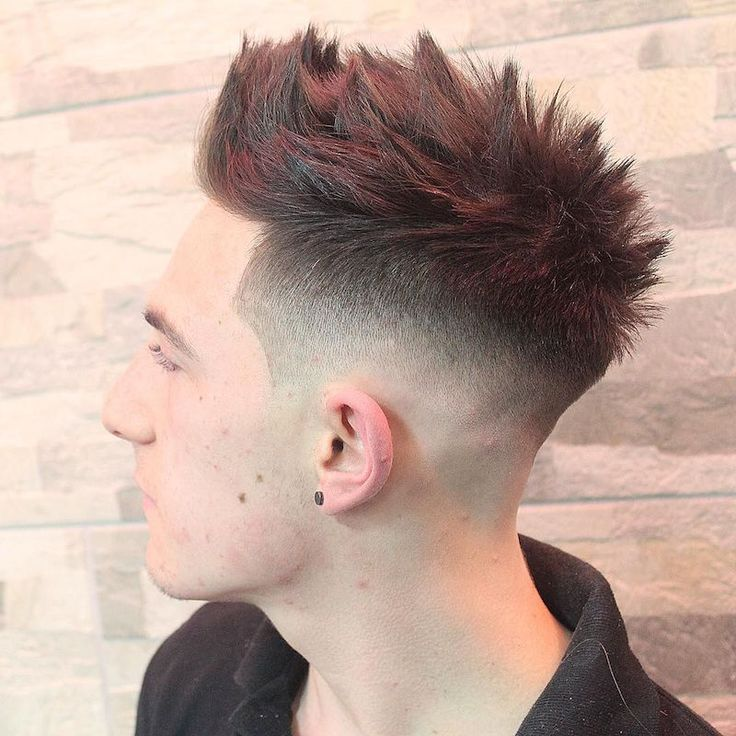 m13ky_and_drop fade textured hair