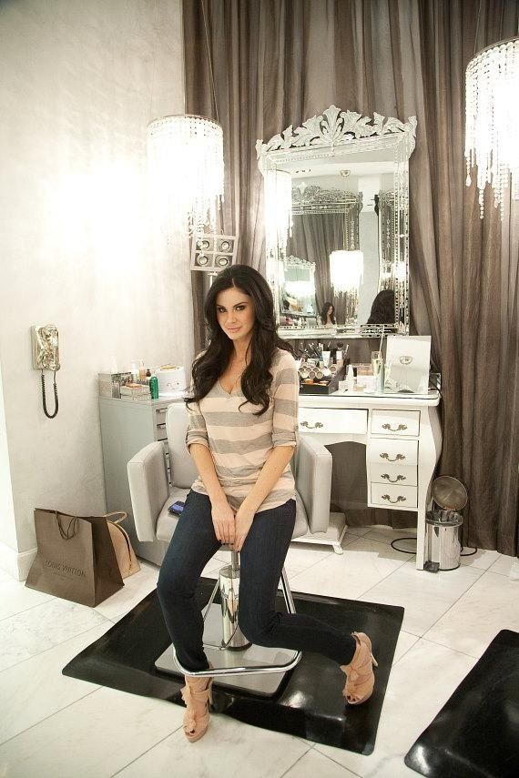 721 best salon workspaces images on pinterest nail for Salon workspace