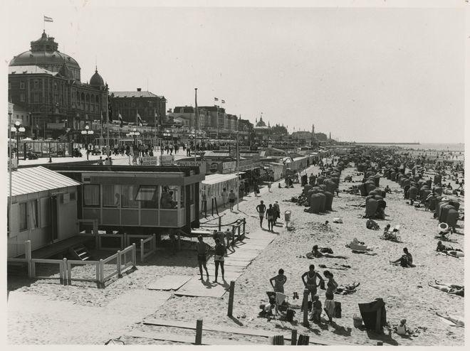 Strand Scheveningen (jaartal: 1970 tot 1980) - Foto's SERC