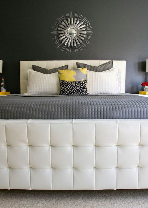 104 best Gray and Black Rooms images on Pinterest | Black rooms ...