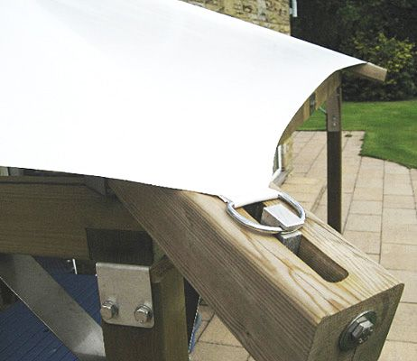 The Tuscany Luxury Wooden Garden Gazebo and Hot Tub Enclosure.